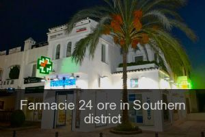 Farmacie 24 ore in Southern district
