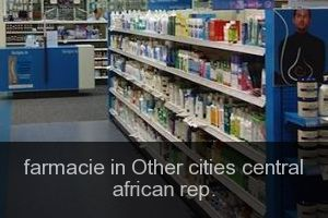 Farmacie in Other cities central african rep.