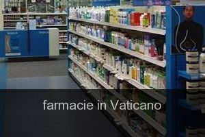 Farmacie in Vaticano